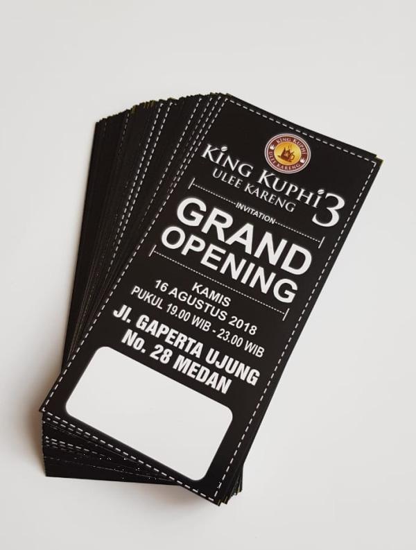 King Kuphie3 – invitation print laser